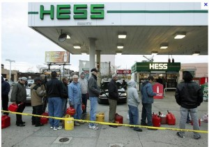 Can We Get More Gasoline for Storm Victims?